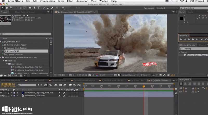adobe after effects cc 2018 تحميل